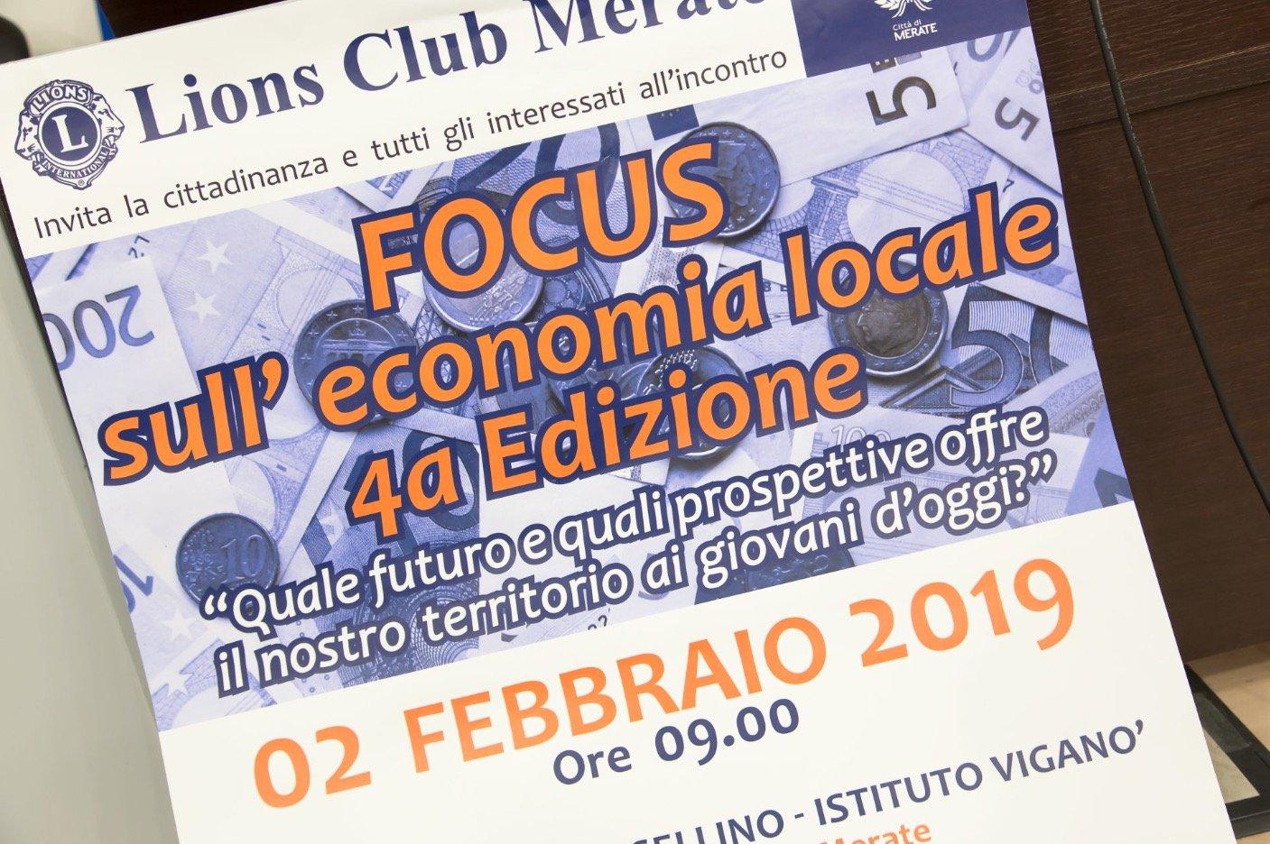 EVENTO DI FEBBRAIO: 4° EDIZIONE FOCUS ECONOMIA LOCALE